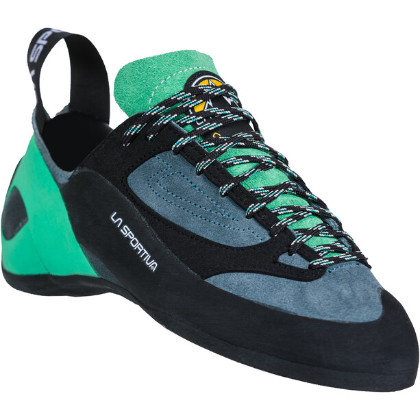 La Sportiva Finale Kletterschuhe Damen slate/jade green
