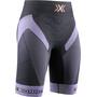 X-Bionic Effektor 4.0 Trail Run Shorts Damen anthracite/bright lavender