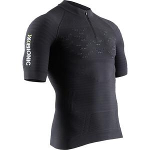 X-Bionic Effektor 4.0 Trail Run Sweat-shirt manches longues avec demi-zip Homme, noir noir