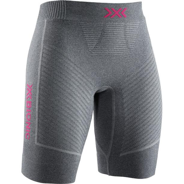 X-Bionic Invent 4.0 Run Speed Shorts Damen grau