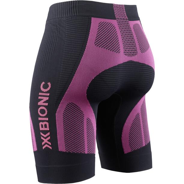 X-Bionic The Trick G2 Laufshorts Damen opal black/neon flamingo
