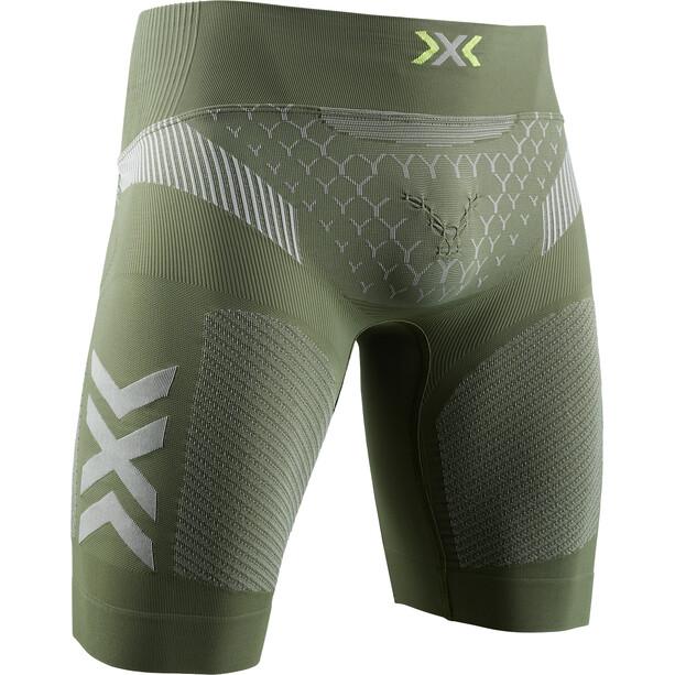 X-Bionic Twyce G2 Laufshorts Herren oliv