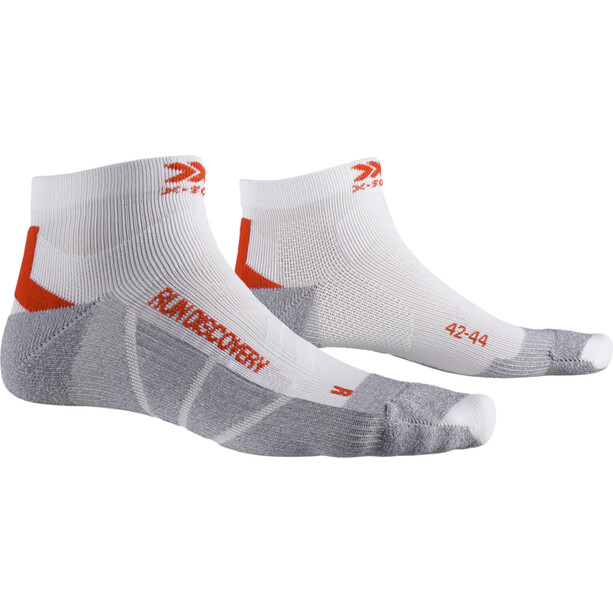 X-Socks Run Discovery Socken arctic white/dolomite grey