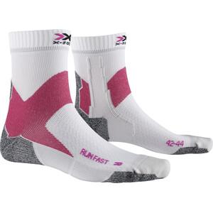 X-Socks Run Fast Socken arctic white/flamingo pink arctic white/flamingo pink