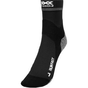 X-Socks Run Fast Socken schwarz schwarz