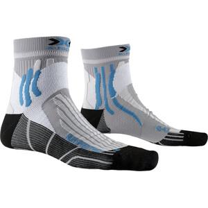 X-Socks Run Speed Two Socken pearl grey/opal black pearl grey/opal black