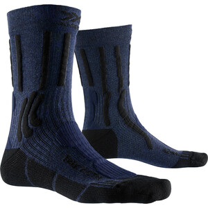 X-Socks Trek X CTN Socken midnight blue melange/opal black midnight blue melange/opal black