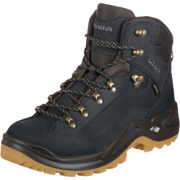 Lowa Renegade GTX Mid-Cut Schuhe Herren navy/honey
