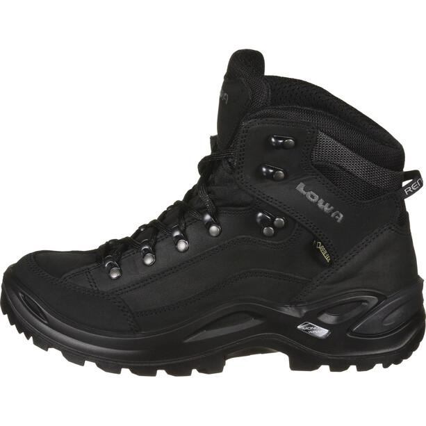 Lowa Renegade GTX Mid-Cut Schuhe Damen deep black