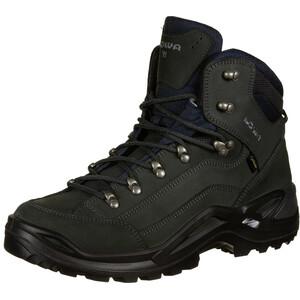 Lowa Renegade GTX Mid Wide Schuhe Herren dark grey dark grey