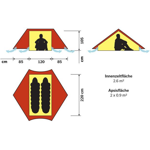 Hilleberg Anaris Tent red