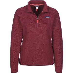 Patagonia Retro Pile 1/4 Zip Sweater Damen arrow red arrow red