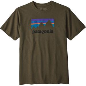 Patagonia Shop Sticker Responsibili-Tee Herren sediment sediment