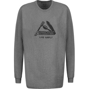 Patagonia Live Simply Pocketknife Responsibili-Tee Herren gravel heather gravel heather