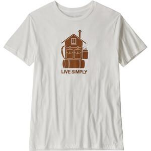 Patagonia Live Simply Home Organic T-Shirt Herren white white