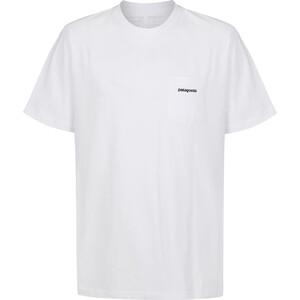 Patagonia P-6 Logo Pocket Responsibili-Tee Herren white white