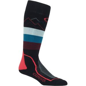 Icebreaker Ski+ Medium Cushion Socken Damen black/prism black/prism