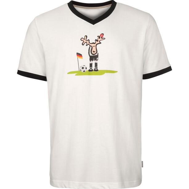 Elkline Ecke T-Shirt Men, valkoinen