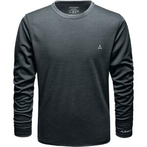 Schöffel Merino Sport Langarm Shirt Herren schwarz schwarz