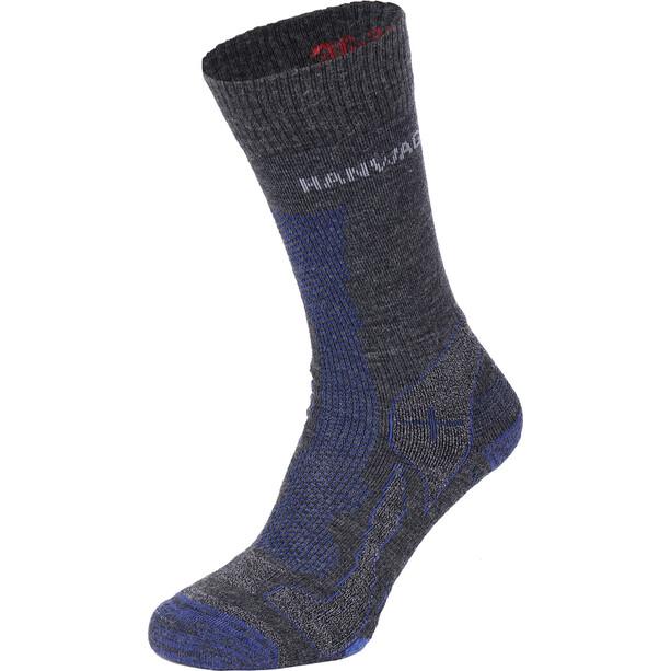 Hanwag Trek Socken anthracite/blue