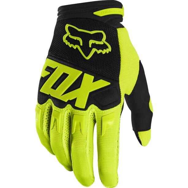 Fox Dirtpaw Race Handschuhe Herren fluorescent yellow