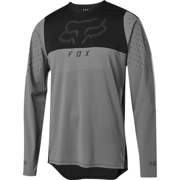 Fox Flexair Delta Maillot Manches longues Homme, pewter
