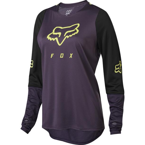Fox Defend LS Jersey Women dark purple