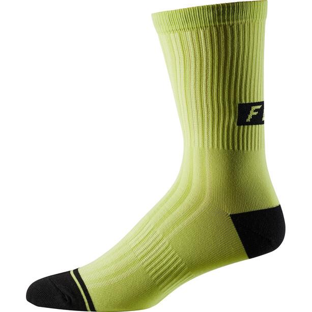 """Fox 8"""" Trail Socken Herren sulphur"""