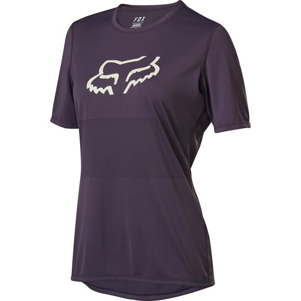 Fox Ranger Kurzarm Trikot Damen dark purple