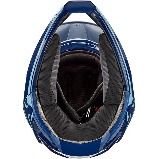 Fox Rampage Pro Carbon Daiz Helm Herren navy