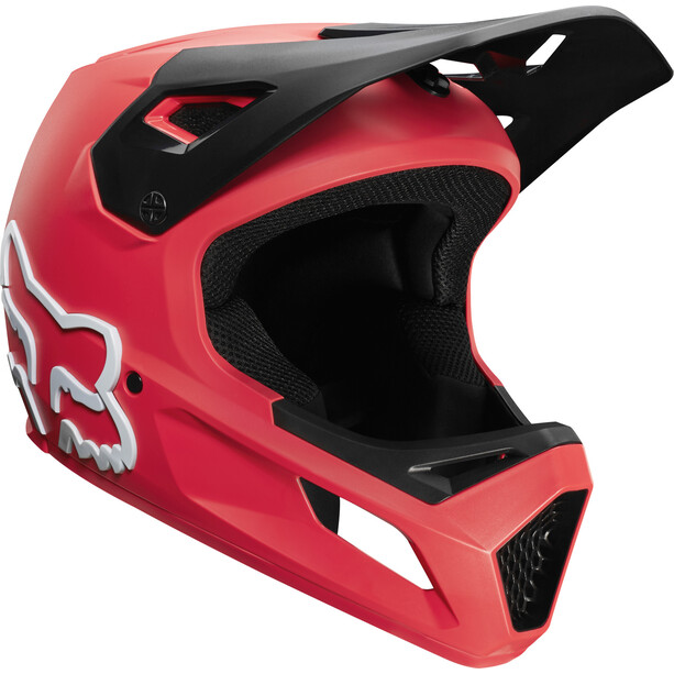Fox Rampage Helm Herren bright red