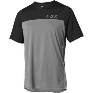 Fox Flexair Kurzarm Zip Trikot Herren pewter pewter