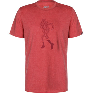inov-8 Triblend T-Shirt Herren dark red dark red