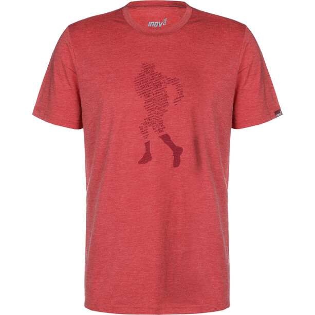 inov-8 Triblend T-Shirt Herren dark red