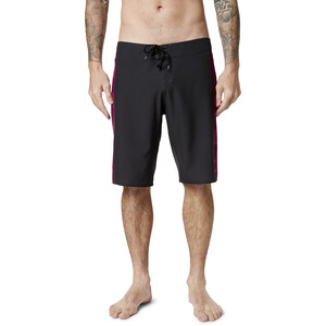 "Fox Tracks 21"" Stretch Boardshorts Herren black black"