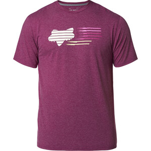 Fox Lightspeed Head Kurzarm Tech T-Shirt Herren heather purple heather purple