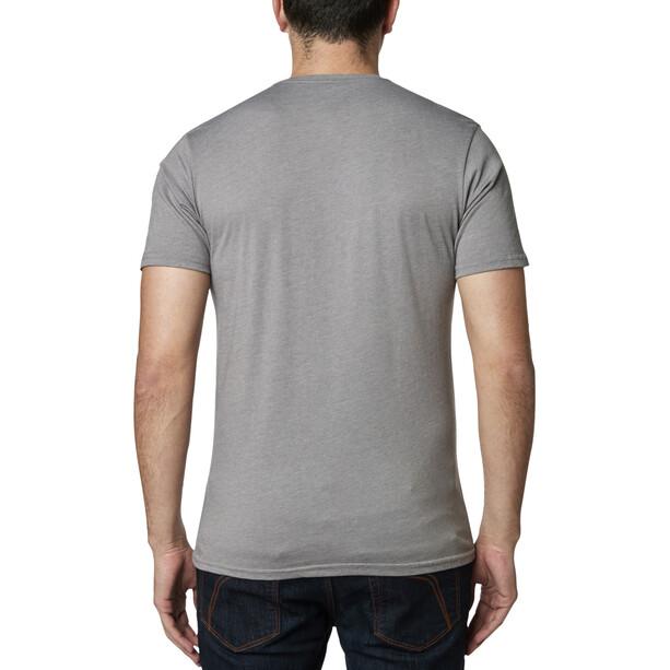 Fox Castr Premium Kurzarm T-Shirt Herren heather graphite
