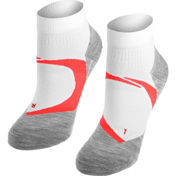 Falke RU 4 Cool Kurze Socken Damen white neon red