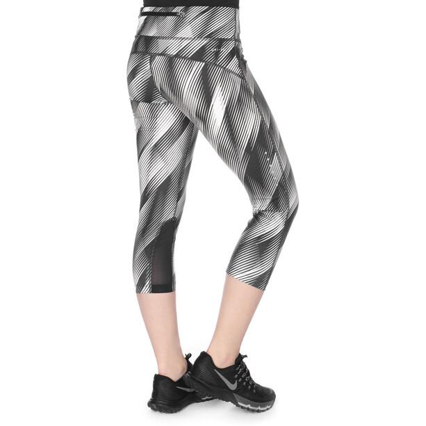 Nike Power Epic Caprit Naiset, white/black