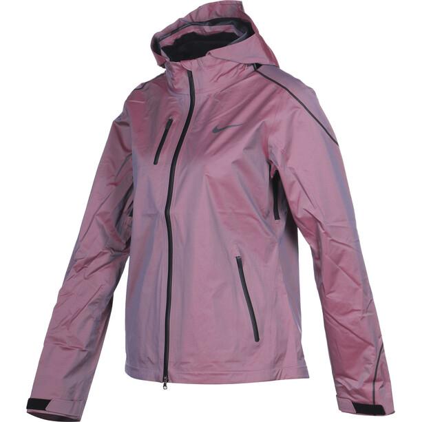 Nike Hypershield Jacke Damen vivid sky/cayenne