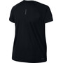 Nike Dry Miler T-Shirt Femme, noir