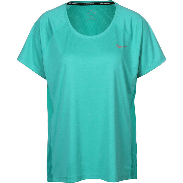 Nike Dry Miler T skjorte Dame turkis