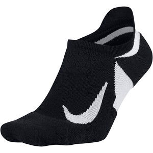 Nike Dry Elite Cushioned No-Show Socken black/white black/white