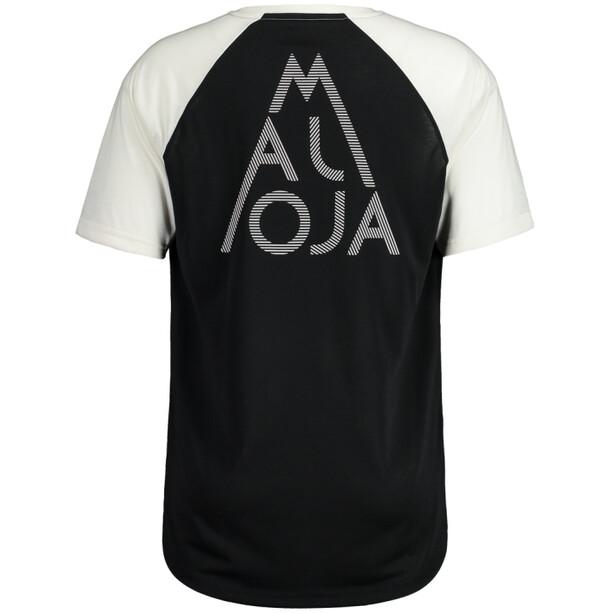 Maloja AlmenM. Kurzarm Multisport Trikot Herren moonless multi