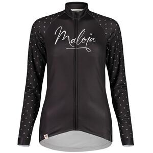 Maloja ArgoviaM. 1/1 Langarm Fahrradtrikot Damen moonless moonless