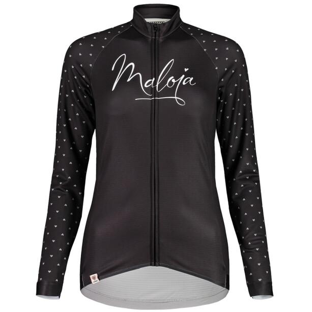 Maloja ArgoviaM. 1/1 Langarm Fahrradtrikot Damen moonless