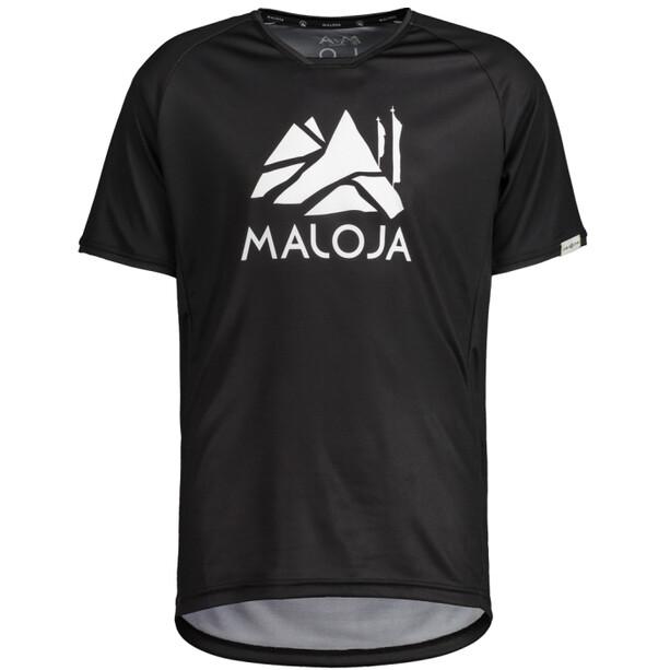 Maloja SanetschM. Multi 1/2 Kurzarm Multisport Trikot Herren moonless