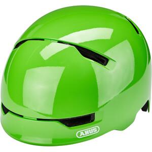 ABUS Scraper 3.0 ヘルメット キッズ シャイニーグリーン ※当店通常価格\5790(税込)