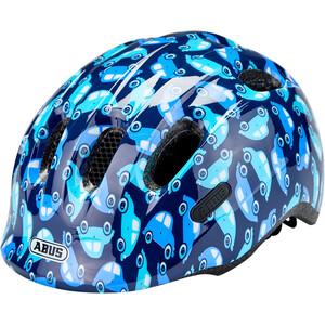 ABUS/スマイル 2.0 ヘルメット キッズ ブルー/車
