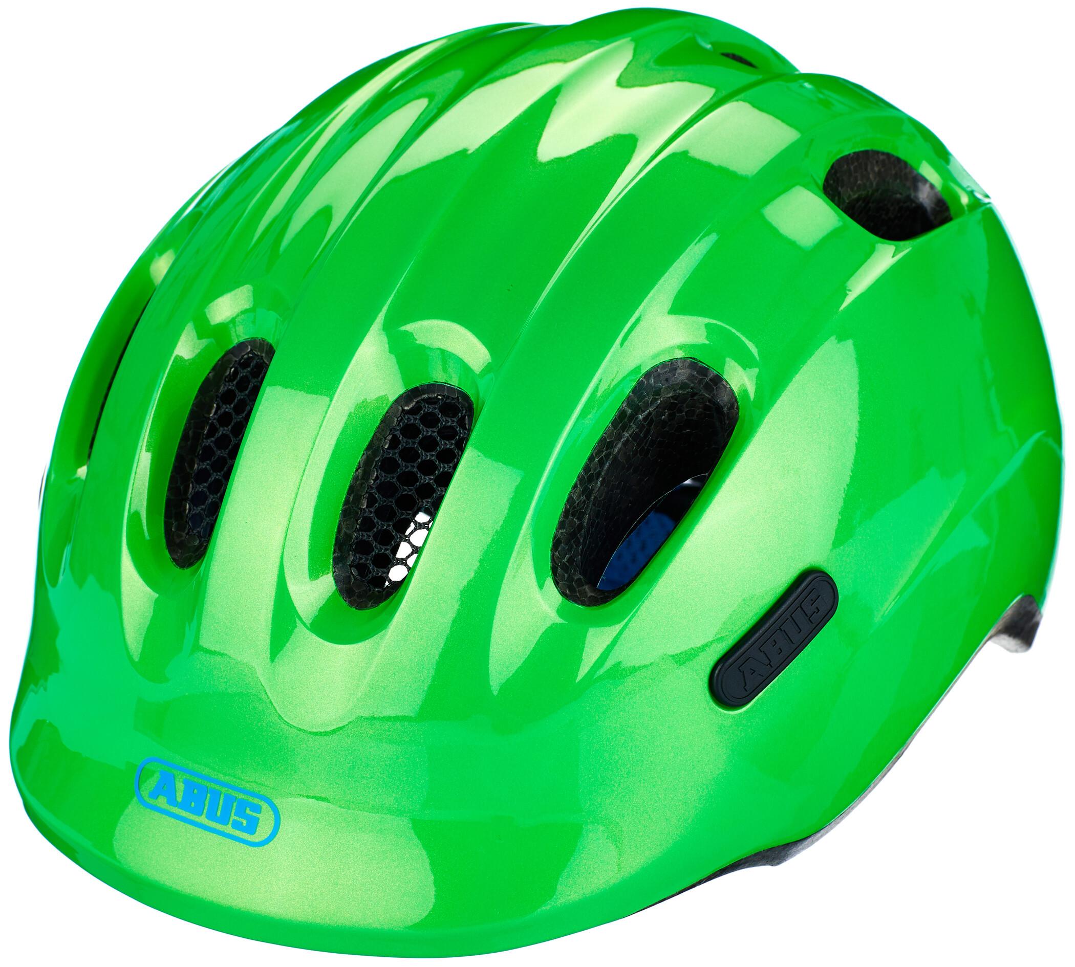 ABUS Helm Smiley Fahrradhelm Kinder grün im Online Shop von